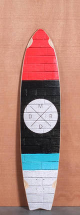 "Madrid 41.5"" Bricks Longboard Deck"