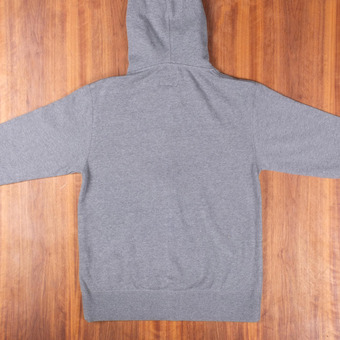 Sector 9 Stratum Zip-Up Gunmetal Heather Sweatshirt