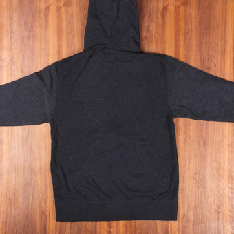 Sector 9 Stratum Zip-Up Charcoal Heather Sweatshirt