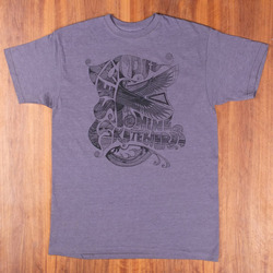 Sector 9 Cairo Heather Grey T-Shirt