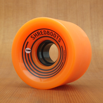GoldCoast Shred Boot 70mm 85a Wheels - Caution