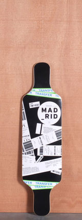 "Madrid 34.375"" Flight Longboard Deck"