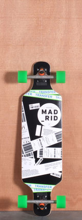 "Madrid 34.375"" Flight Longboard Complete"