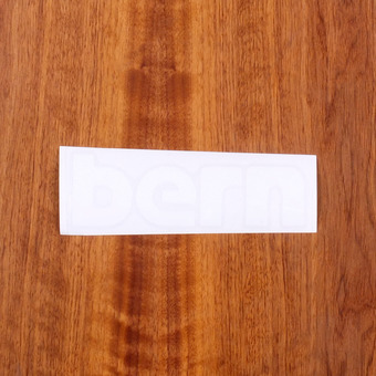 "Bern Sticker 6"" White"