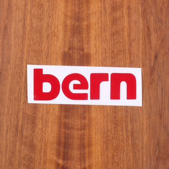"Bern Sticker 6"" Red"