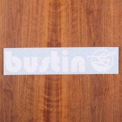 "Bustin Sticker 13"" Die-Cut"