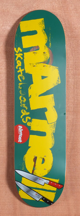 "Almost Marnell Logo Cuts 8.44"" Skateboard Deck"