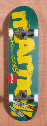"Almost Marnell Logo Cuts 8.44"" Skateboard Complete"