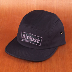 Almost 5 Panel Hat - Black