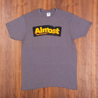 Almost Bent Out Of Shape Platinum Heather T-Shirt