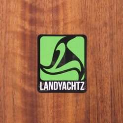 "Landyachtz Sticker 2.25"" Green"