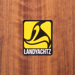 "Landyachtz Sticker 2.25"" Yellow"