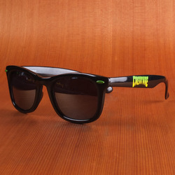 Creature Logo Black Sunglasses