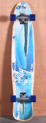 "Gravity 46"" Into The Blue Longboard Complete"