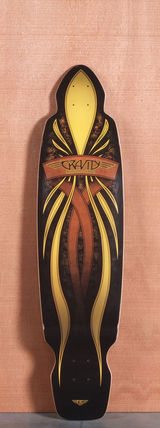 "Gravity 40"" Mini Kick Longboard Deck"