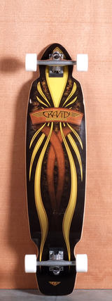 "Gravity 40"" Mini Kick Longboard Complete"