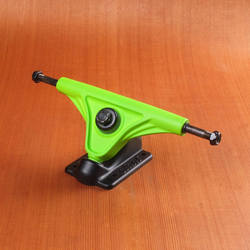 Slant 150mm Magnesium Trucks - Fluorescent Green/Black