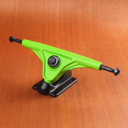 Slant 180mm Magnesium Trucks - Fluorescent Green/Black