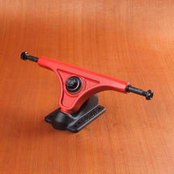 Slant 150mm Trucks- Red/Flat Black