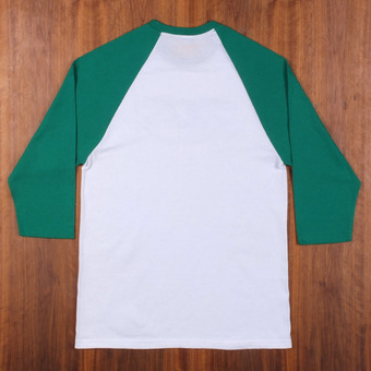 Anti Hero Eagle 3/4 Sleeve White/Kelly Green T-Shirt