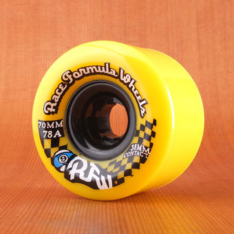 Sector 9 Race Formula 70mm 78a Centerset Wheels - Yellow