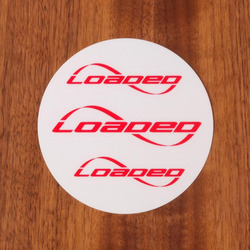 Loaded Sticker Pack Red