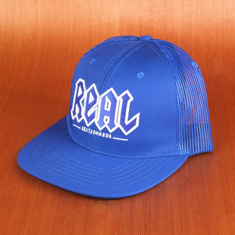Real Deeds Trucker Hat - Blue