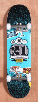 "Stereo Cheers 21 Years 8.25"" Skateboard Complete"