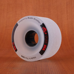 Bustin Five-O 64mm 85a Wheels - Clear/Red