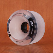 Bustin Five-O 72mm 80a Clear/White Wheels