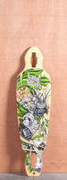 "Landyachtz 35.25"" Battle Axe Longboard Deck"