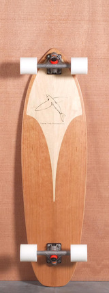 "Flying Fish 39"" Manta Ray Longboard Complete"