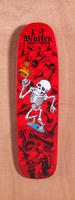 "Powell 27.5"" Bones Brigade Mullen Red Skateboard Deck"