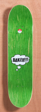 "Baker Figgy Bubble 8.19"" Skateboard Deck"
