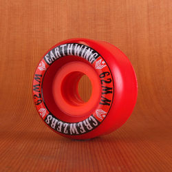Earthwing Crewzers 62mm 78a Wheels - Red