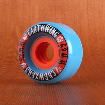 Earthwing Crewzers 62mm 81a Wheels - Blue