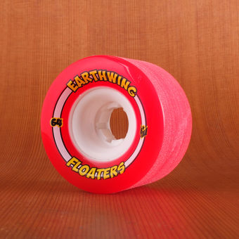 Earthwing Mini Floaters 64mm 78a Wheels - Red