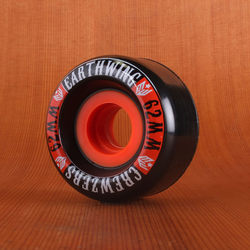 Earthwing Crewzers 62mm 84a Wheels - Black