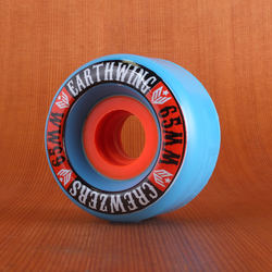 Earthwing Crewzers 65mm 81a Wheels - Blue
