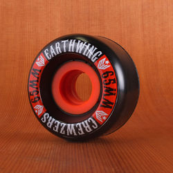 Earthwing Crewzers 65mm 84a Wheels - Black