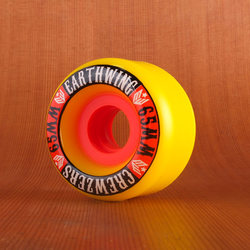 Earthwing Crewzers 65mm 87a Wheels - Yellow