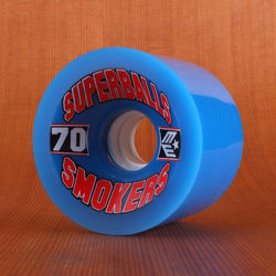 Earthwing Superballs Smokers 70mm 81a Wheels - Blue