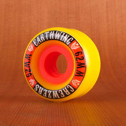 Earthwing Crewzers 62mm 87a Wheels - Yellow