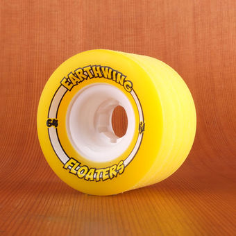 Earthwing Mini Floaters 64mm 87a Wheels - Yellow