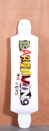 "Earthwing 40"" Road Killer Longboard Deck - White"