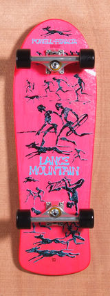 "Powell 30.5"" Bones Brigade Mountain Skateboard Complete - Pink"