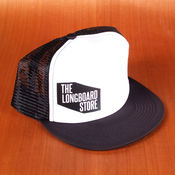 TLS Logo Trucker White Hat
