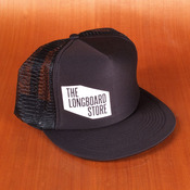 TLS Logo Trucker Black Hat