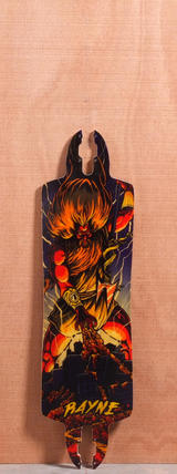 "Rayne 35.25"" Drop-Thru Baby Killer Longboard Deck"