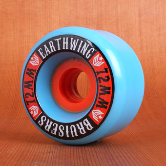 Earthwing Bruisers 72mm 81a Wheels - Blue